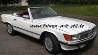 Chrom EU Stoßstangen Mercedes SL 107 R W Bumpers pair-choc  stossstange