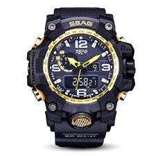 SBAO Watch LED Men Waterproof Sports Watches Shock Digital Electronic #IKU7