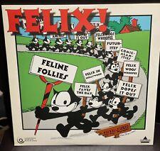 "FELIX THE CAT 12"" Laserdisc. Feline Follies VERY RARE"