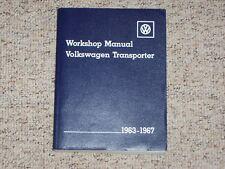 1966 VW Volkswagen Transporter Shop Service Repair Manual Kombi Bus 1200 1500