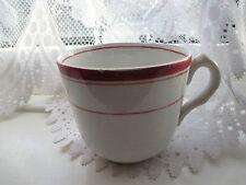VINTAGE PORCELAIN POTTERY CUP CHINA PLATES