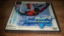 AERO DIVE AERODIVE PLAYSTATION 1 PS1 JAPAN IMPORT BRAND NEW SEALED COMPLETE!