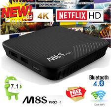 M8S PRO L Android 7.1 ATV TV BOX Amlogic 3GB+16GB Voice Control 4K WIFI BT OTA