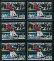 2018 Topps Holiday Victor Robles RC 6 Card Lot #189 #HMW189 Rookie