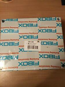 FIBOX 104-183 ABS PLASTIC ENCLOSURE NEW