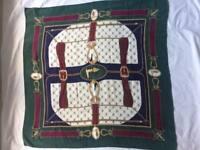 foulard  TRUSSARDI  original originale silk sciarpa skirf 100% seta OCCASIONE