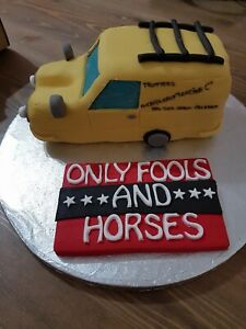 Only Fools and Horses edible topper decoration
