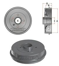 Brake Drum fits NISSAN MICRA K12 1.4 Rear 2003 on CR14DE 43206AX650 Juratek New