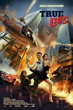 True Lies Schwarzenegger Alternative Movie Poster Art by Dave Merrell NT Mondo