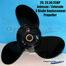 15 20 25 30 35HP JOHNSON EVINRUDE PROP PROPELLER 3 Blade Aluminium All Sizes