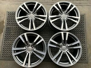 """Genuine Audi A3 Set Of Alloy Wheels 8J x 18"""" Part Number: 8V0601025BC"""