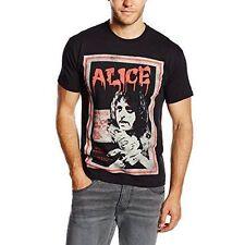 Alice Cooper Vintage Poster Mens Black T Shirt Large