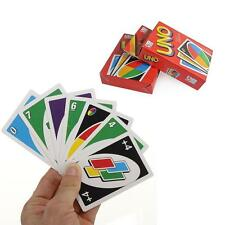 Family Fun One Pack of 108pcs UNO Card Game Playing Card For Travel Friends KJ