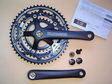 Shimano fc-2203 bicicletta da corsa MANOVELLA quadrangolare 52/42/30 7-8 volte 170mm Nero Nuovo