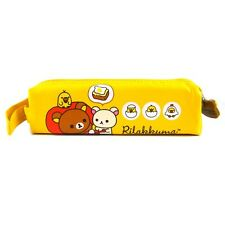 San X Licensed Rilakkuma Pencil Case with Carrying Handle : Yellow 2