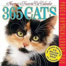 365 Cats Page-A-Day Calendar 2018 by Workman Publishing