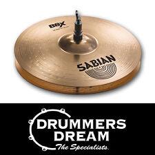 "SABIAN B8X 13"" Hi Hat Cymbals 41302X Crisp and Lively RRP $299.00"