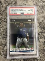 2019 Topps Update Vladimir Guerrero Jr. SP Pointing RC #US1 PSA 8 NM-MT