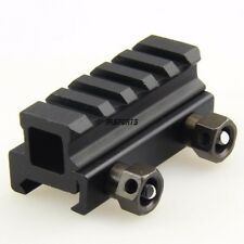 "0.75"" inch 5 Slot High Riser 20mm WEAVER PICATINNY See Through Scope Mount"