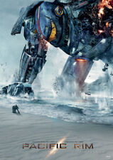 NECA PACIFIC RIM DAMAGED GIPSY POSTER 22X34 NEW FREE SHIPPPING
