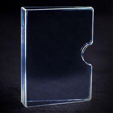 Invisible Card Guard - Clear Plastic Card Clip - Magic Tricks - New