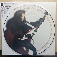 DEAD OR ALIVE/Pete Burns JAPANESE Picture Disc SEALED Mad, Bad Dangerous To Know