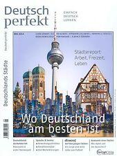 Deutsch perfekt - Einfach Deutsch Lernen, Ausgabe Mai 05/2014 +++ wie neu +++