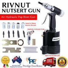 Nutsert / Rivnut Air Hydraulic Pneumatic Pop Rivet Nut Riveter Garage Gun Tools