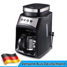 Barista Kaffeemaschine Mahlwerk 560ml Glaskanne Edelstahl Permanentfilter 600W