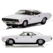 Scalextric Slot Car C3935 senza confezione Dodge Challenger 1970, Bianco