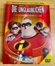 DVD Walt Disney Pixar DIE UNGLAUBLICHEN [2 DVDs] (2005) Pappschuber Kinder TOP
