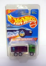 HOT WHEELS HIWAY HAULER #335 Photo Finish Series DieCast Truck MOC COMPLETE 1994