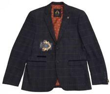Completi e abiti sartoriali da uomo blazer blu regolare