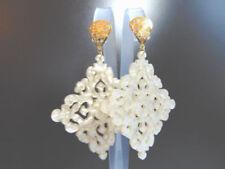 Mode-Ohrschmuck im Ohrstecker-Stil aus Messing mit Perlen
