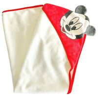 Vintage Disney Bath Towel Mickey Mouse Hooded Toddler Towel Childrens Beach