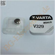 5 x V329 Batteries for Watches Varta  5pcs