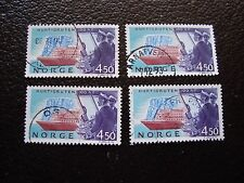 NORVEGE - timbre yvert et tellier n° 1085 x4 obl (A04) stamp norway