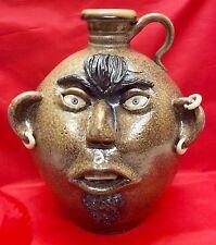Bobby Brewer, 30th Annual Seagrove Pottery Festival Face Jug, 11-20-11
