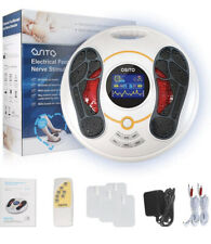 OSITO Foot Massager Machine Feet Legs Circulation Device Uses EMS & TENS - 300D