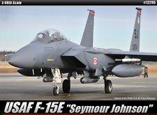 Academy Aircraft 1/48 Scale Plastic Model Kit USAF F-15E Seymour Johnson #12295