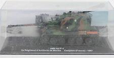 JOUET ANCIEN - CHAR AMX AU F-1 - REGIMENT DE CANJUERS - 1997 - 14 cm