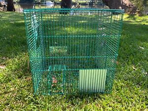 Myna Magic humane trap by CCD&VC. Over 1000 sold.