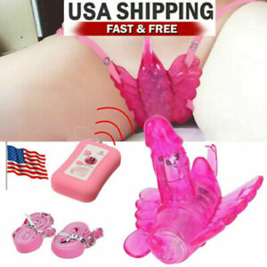 Wireless Wearable Panties Clit Vibrator Dildo Sex-toys for Couple Women Adult