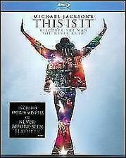 MICHAEL JACKSON: THIS IS IT BLU-RAY MOVIE *NEW* AUS EXPRESS