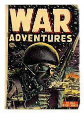 War Adventures #12 GD 2.0 1952