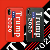 Trump 2020 Shockproof Silicone Case Cover For iPhone X XS MAX 8 7 6 6S Plus