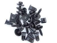 22 Teile Radkasten Radhausschale Reparatur Kit Clips Set für BMW 3er E36