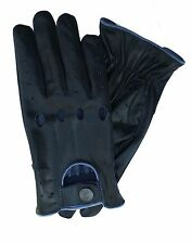MEN`S REAL SOFT LEATHER CRACKER  TOP QUALITY DRIVING  STYLISH FASHION GLOVES