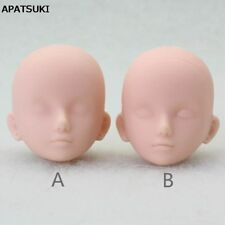 """1:6 Soft Practice Makeup DIY Doll Head For 11.5"""" Doll Head For 1/6 Dollhouse toy"""