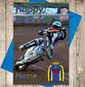 Personalised Speedway Birthday Card - Sheffield Tigers - Any NAME & AGE